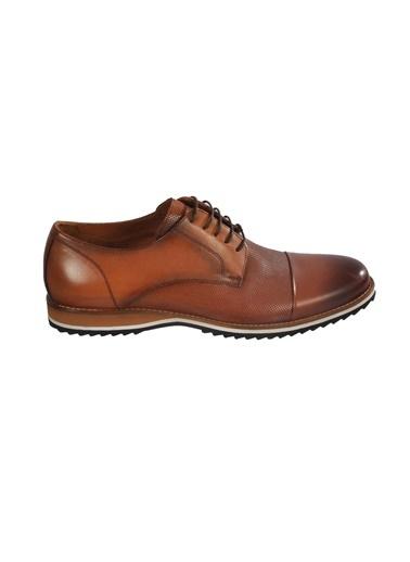 Luciano Bellini E405 Siyah Rugan Erkek Günlük Hakiki Deri Ayakkabı Taba